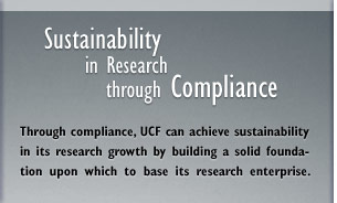 Sustainability in Research through Compliance